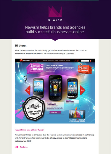 The Rarest Color Of Them All: Purple Themed Email Newsletters
